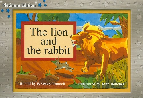 9781418900823: Rigby PM Platinum Collection: Individual Student Edition Blue (Levels 9-11) The Lion and the Rabbit