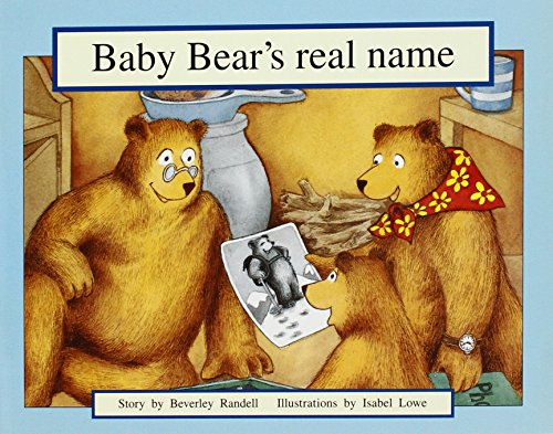 9781418904821: Baby Bear's Real Name: Leveled Reader