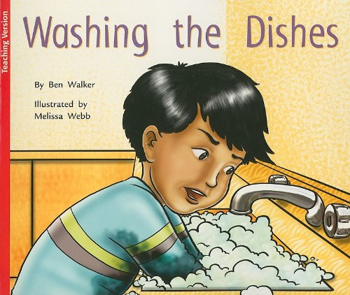 9781418908782: Rigby Flying Colors Red: Teacher Note (Levels 4-5) Washing The Dishes 4-5 2006