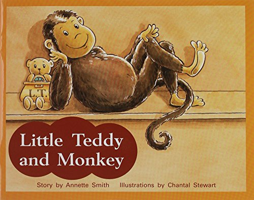 9781418924140: Rigby PM Stars: Individual Student Edition Red (Levels 3-5) Little Teddy and Monkey