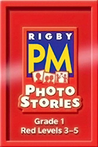 9781418926250: Rigby PM Photo Stories: Single Copy Collection Red (Levels 3-5)