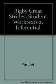 9781418929008: Rigby Great Strides: Student Worktexts 2, Inferential