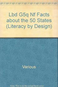9781418939359: Rigby Literacy by Design: Leveled Reader Grade 5 Facts About The 50 States