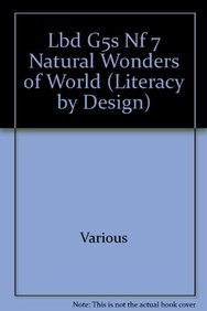 7 Natural Wonders of World (Literacy by Design): Coutu, Raymond