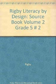 9781418940416: Literacy by Design: Source Book Volume 2 Grade 5