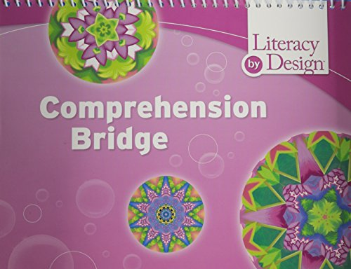 Literacy by Design: Comprehension Bridge Cards Grade K: RIGBY