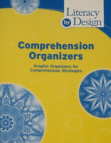 Literacy by Design Comprehension Organizers, grades K-2