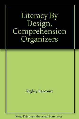 9781418948450: Literacy By Design, Comprehension Organizers