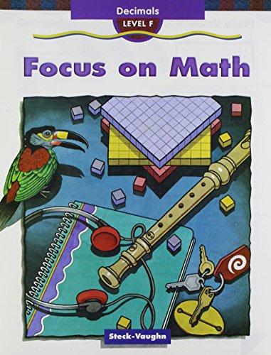 9781419003080: Focus on Math: Student Edition 10-Pack Grade 6, Level F Decimals