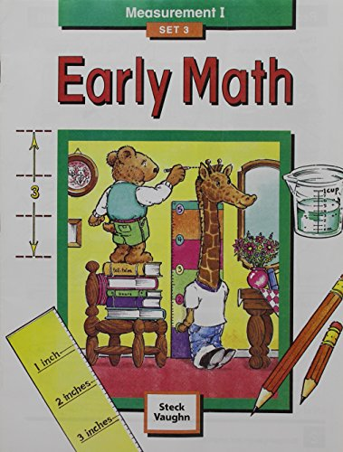 9781419003295: Steck-Vaughn Early Math: Student Edition Grade 1 Measurement I Set 3