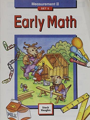 9781419003394: Steck-Vaughn Early Math: Student Edition Grade 2 Measurement II Set 5