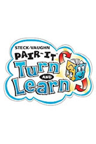 Steck-Vaughn Pair-It Turn and Learn Early Fluency 3: Big Book Story of Cars, The/Flying Cars, ...