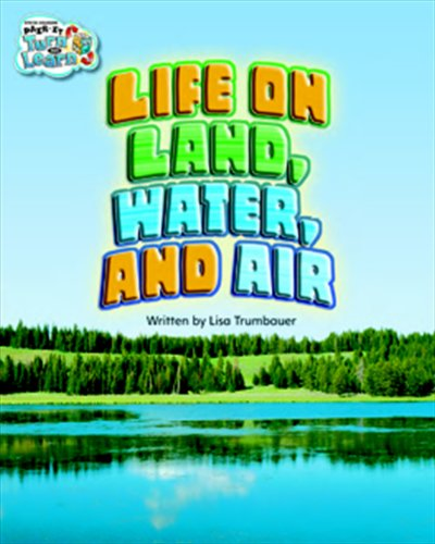 Steck-Vaughn Pair-It Turn and Learn Fluency 4: Individual Student Edition Life on Land, Water, and ...