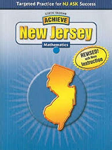 9781419017919: Steck-Vaughn Achieve New Jersey: Student Edition Classroom Package Grade 3 Mathematics