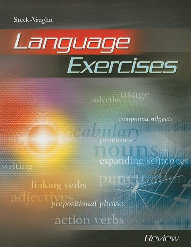 Language Exercise: Student Edition Review Book Review: STECK-VAUGHN
