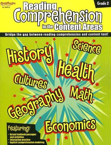 9781419018794: Comprehension Skills in the Content Areas: Reproducible Grade 2