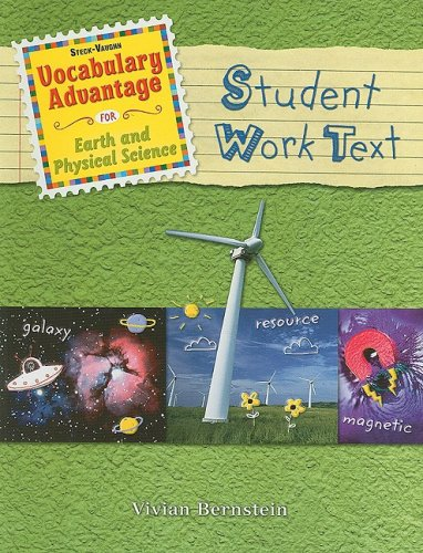 9781419018916: Steck-Vaughn Vocabulary Advantage Science: Student Book Earth and Physical Science