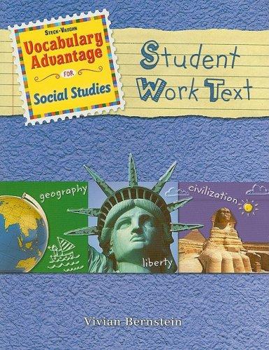 Steck-Vaughn Vocabulary Advantage Social Studies: Student Book: STECK-VAUGHN