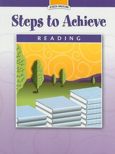 Steck-Vaughn Steps to Achieve: Student Edition Grade 6: STECK-VAUGHN