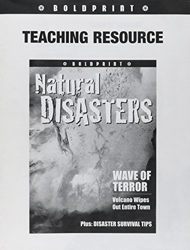 BOLDPRINT: Teacher Guide Grade 6 Natural Disasters 2006 (1419024922) by STECK-VAUGHN