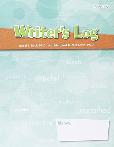 Elements of Reading: Writer's Log Book Grade: STECK-VAUGHN