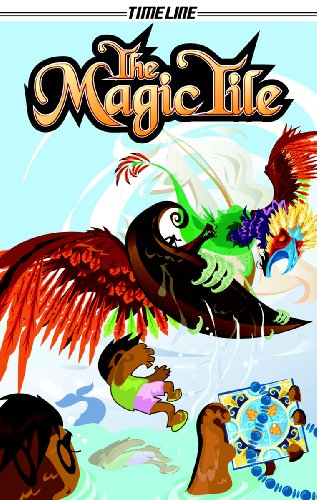 9781419032028: The Magic Tile (Steck-Vaughn Timeline Graphic Novels)