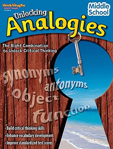 Unlocking Analogies: Reproducible Middle School: STECK-VAUGHN