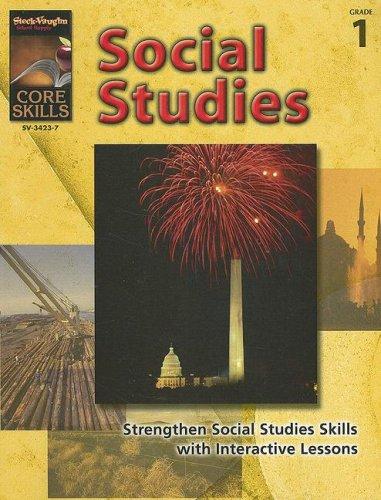 9781419034237: Core Skills: Social Studies: Reproducible Grade 1