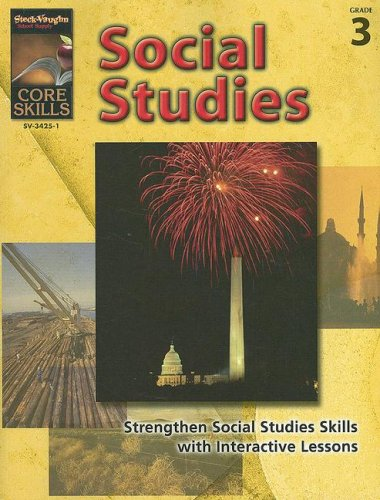 9781419034251: Core Skills: Social Studies: Reproducible Grade 3