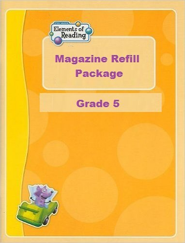 9781419034909: Elements of Reading: Magazine Refill Package (25) Grade 5 Level E