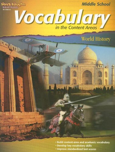 9781419035029: Vocabulary in the Content Areas: Reproducible World History