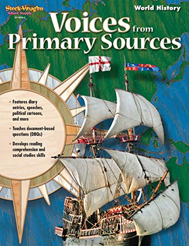 9781419036392: Voices From Primary Sources: Reproducible World History