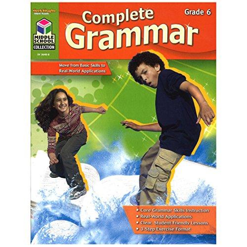 9781419036408: Complete Grammar: Reproducible Grade 6