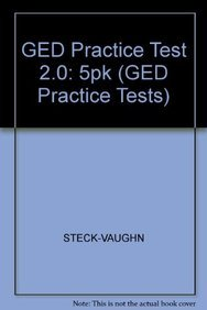 9781419039089: GED Practice Test 2.0: 5pk (GED Practice Tests)