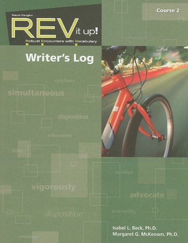 REV it up!: Writer's Log Grade 7: STECK-VAUGHN