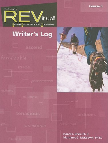 9781419044663: REV it up!: Writer's Log Grade 8 Course 3