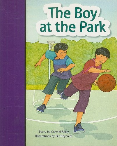 9781419055171: Rigby PM Stars Bridge Books: Individual Student Edition Purple The Boy at the Park