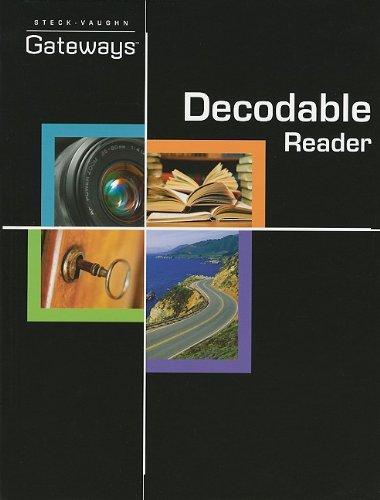 9781419058257: Steck Vaughn Gateways: Student Decodable Book 2010