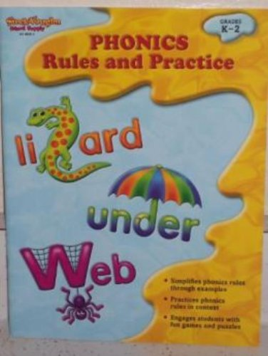 9781419098253: Phonics: Rules and Practice: Reproducible