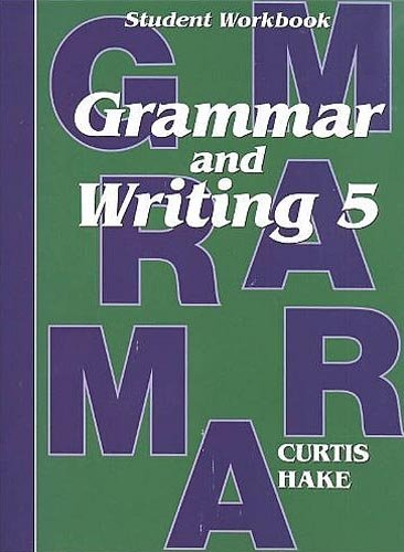 9781419098369: Saxon Grammar and Writing: Complete Homeschool Kit Grade 5
