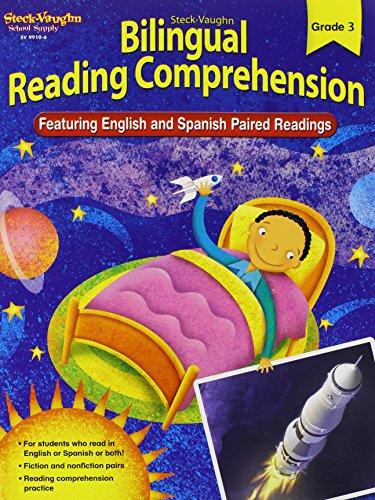 9781419099106: Steck-Vaughn Bilingual Reading Comprehension: Reproducible Grade 3