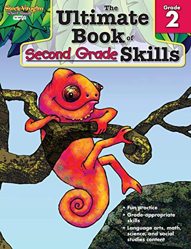 The Ultimate Book of Skills: Reproducible Second Grade: STECK-VAUGHN