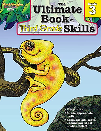 The Ultimate Book of Skills: Reproducible Third Grade: STECK-VAUGHN