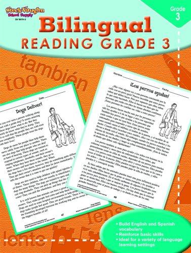 9781419099793: Steck-Vaughn Bilingual: Reproducible Reading Third Grade