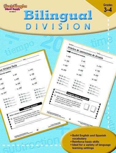 9781419099830: Steck-Vaughn Bilingual: Reproducible Division