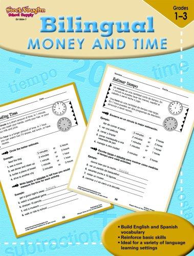 9781419099847: Steck-Vaughn Bilingual: Reproducible Money & Time