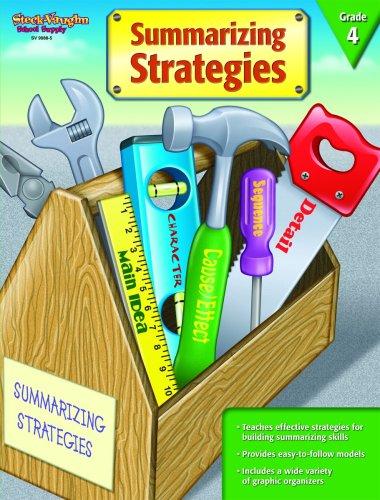 9781419099885: Summarizing Strategies: Reproducible Grade 4