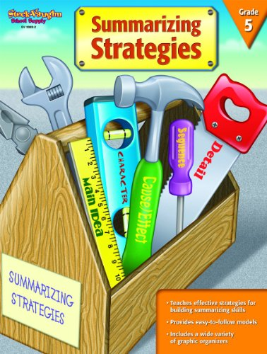 9781419099892: Summarizing Strategies: Reproducible Grade 5