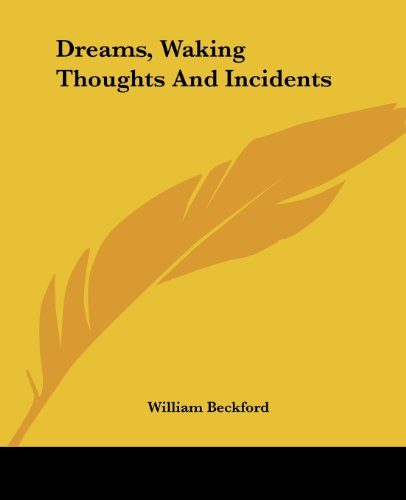 9781419116896: Dreams, Waking Thoughts And Incidents