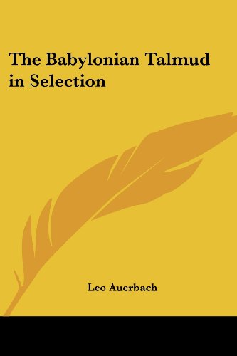 9781419119514: The Babylonian Talmud in Selection